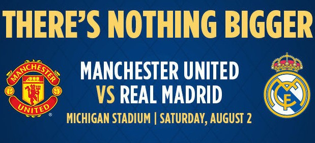 Live Streaming Nonton Online Manchester United vs Real Madrid, Guinness Cup 2014