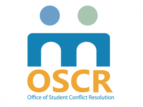 Office of Student Conflict Resolution(OSCR) logo