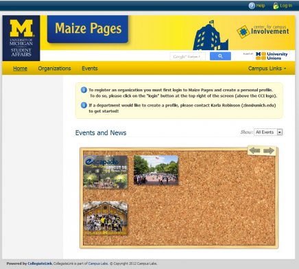 Maize Pages