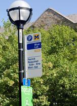 Permit Parking Sign